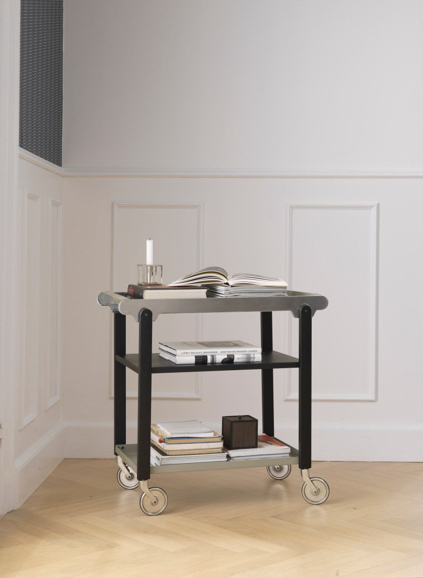 by Lassen's Norli tableware and Anoon drinks trolley