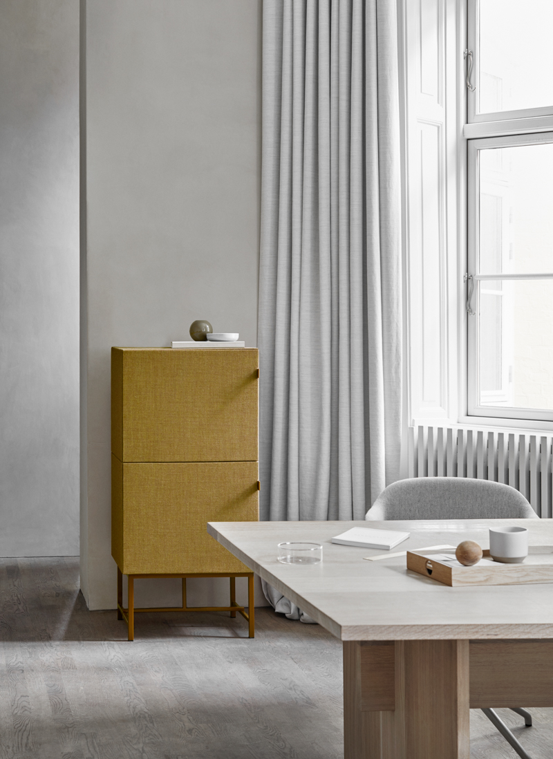 Sound absorbing cabinets by Norm Architects for Zilenzio