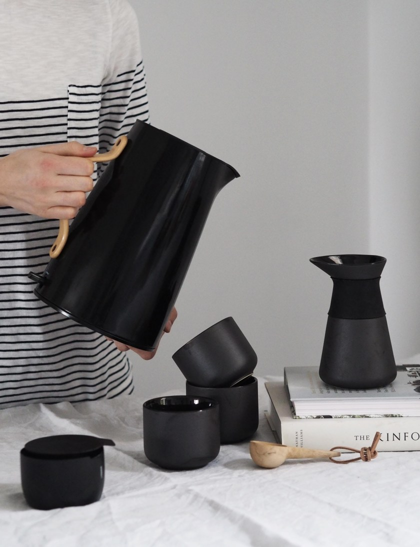 The daily ritual of coffee making with Stelton - the Theo range by Stelton