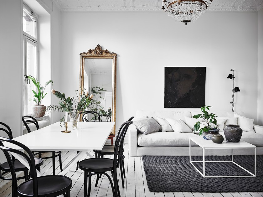 I wish I lived here: bright, white interior inspiration for Spring