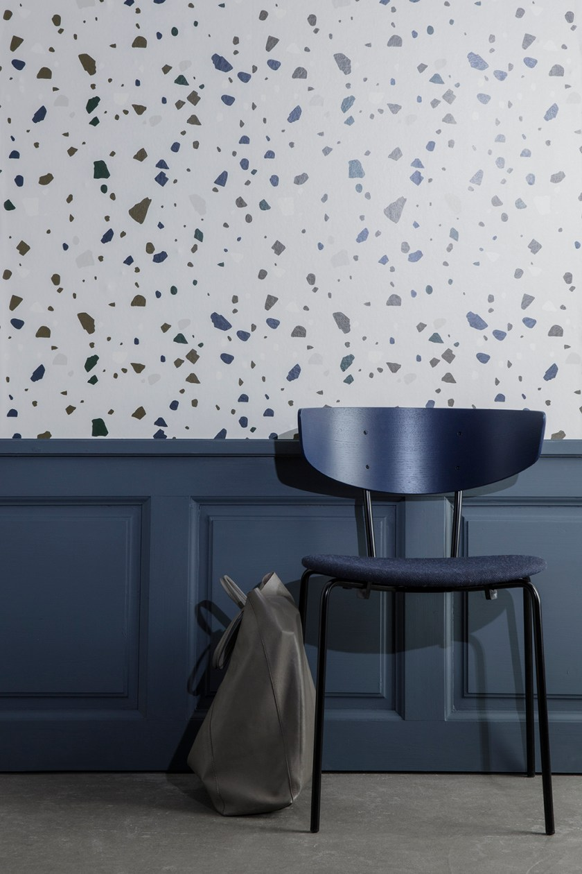 New Herman Chair Upholstered with Fiord by Kvadrat by Ferm Living