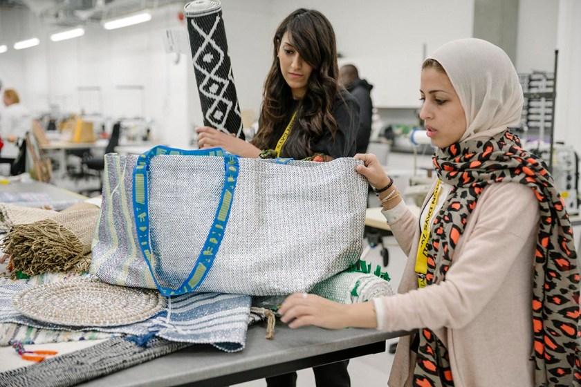 Mariam Hazem and Hend Riad from Reform Studio at IKEA of Sweden - Democratic Design