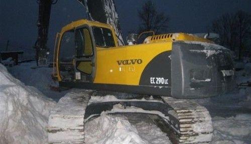 Volvo Ec290lc Hydraulic Excavator Service Repair Manualcat