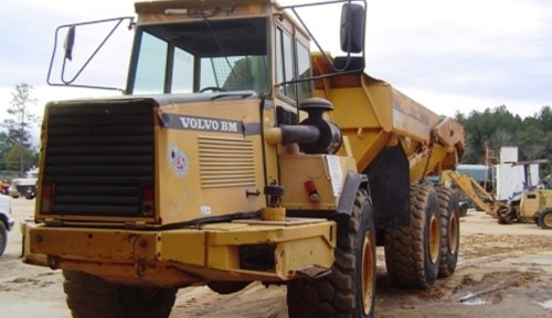 Volvo Bm A25c Articulated Dump Truck Workshop Repair