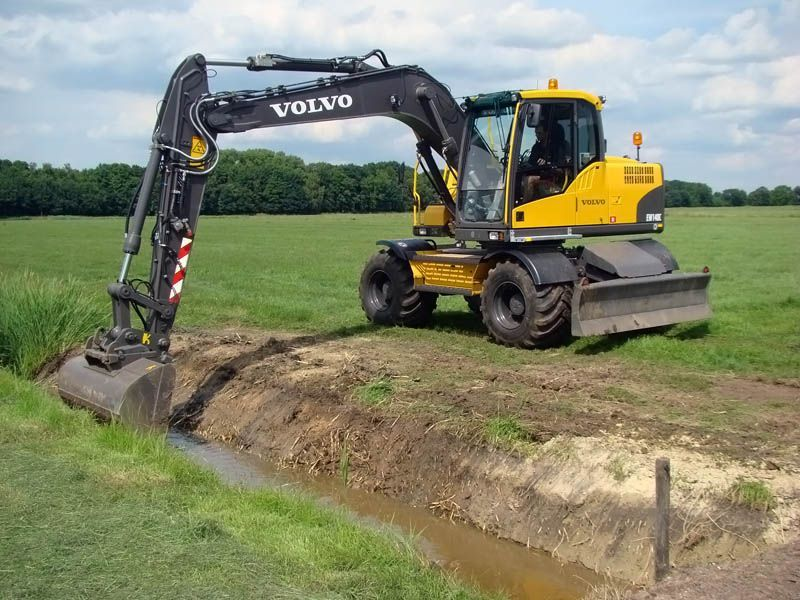 Volvo Ew 140 Wheeled Excavator Service Repair Shop