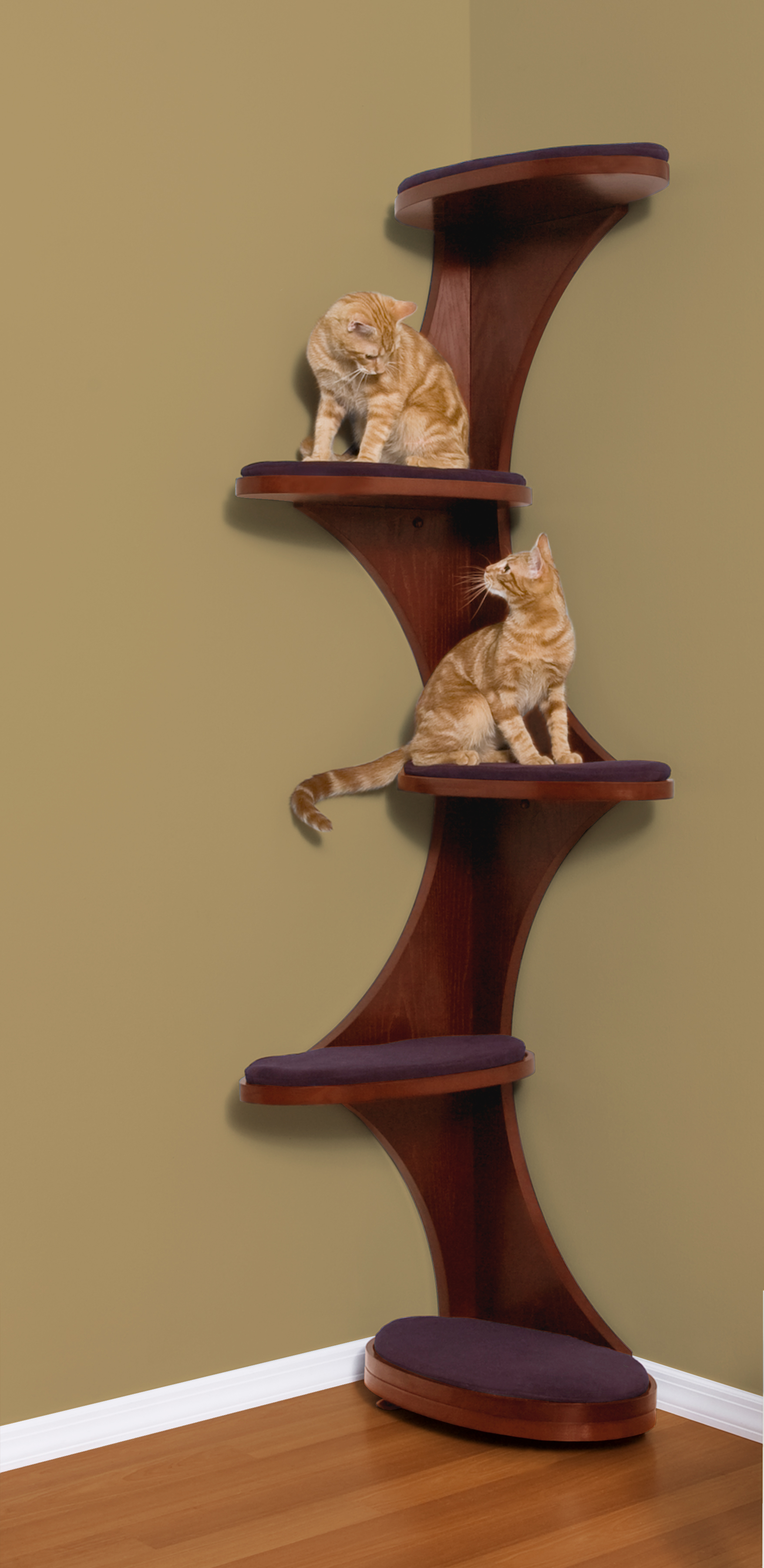 Modern Cat Shelves Cat Furniture Cat Trees Cat Condos