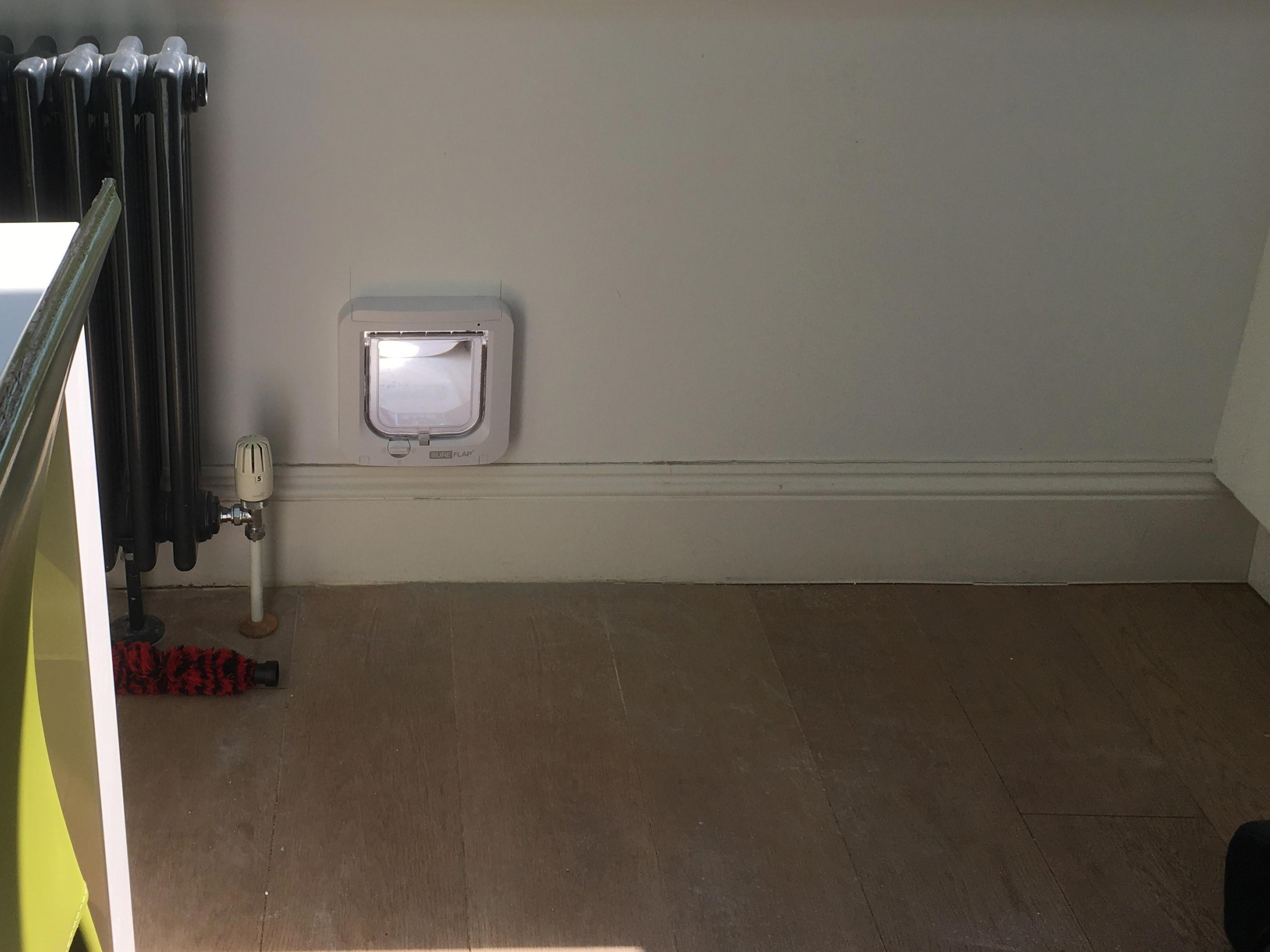 Flapon Cat Flaps Fitted Into Walls Gallery