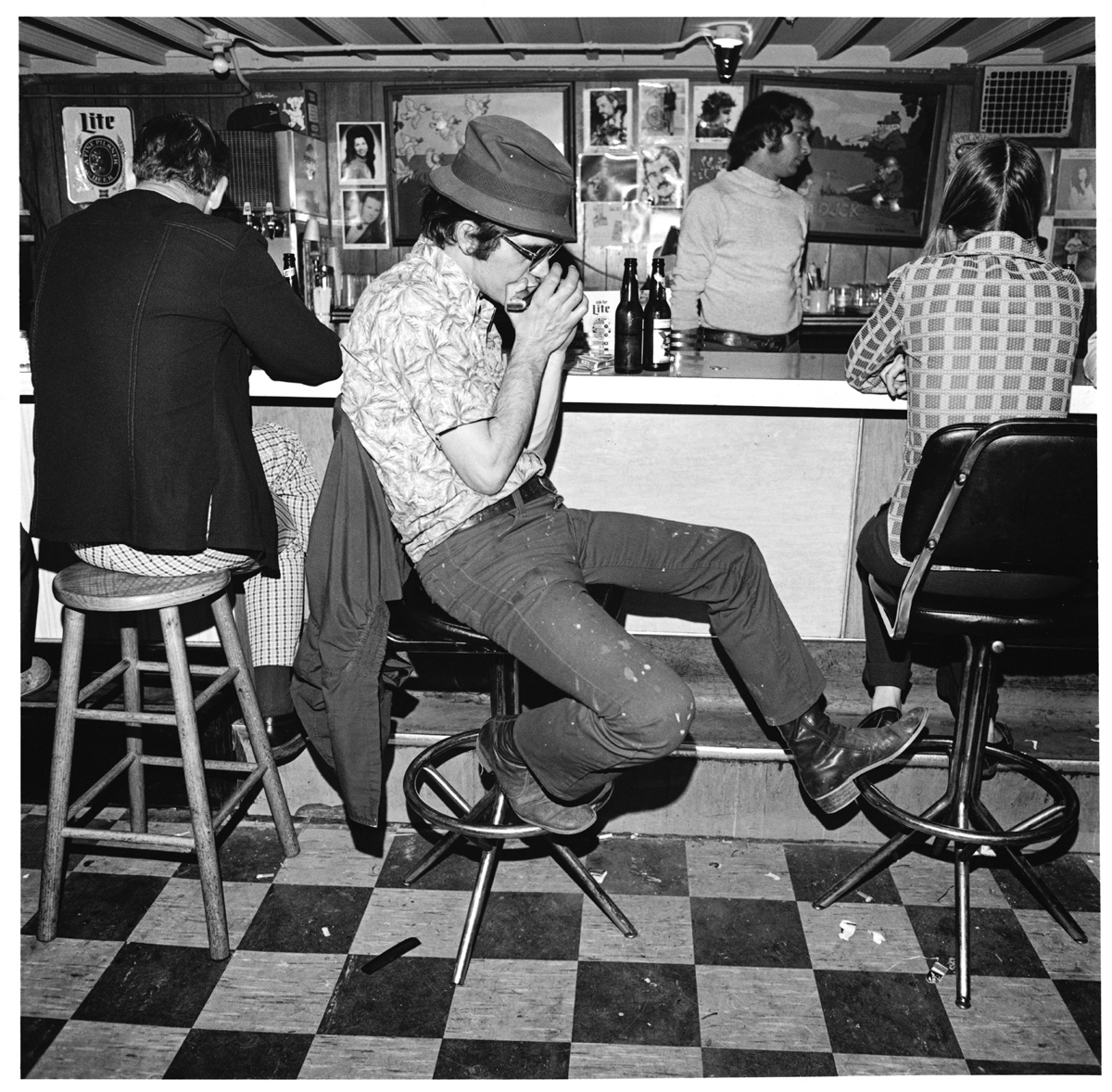 Merchants Nashville Harmonica Player Merchant 39s Cafe Nashville Tn 1974