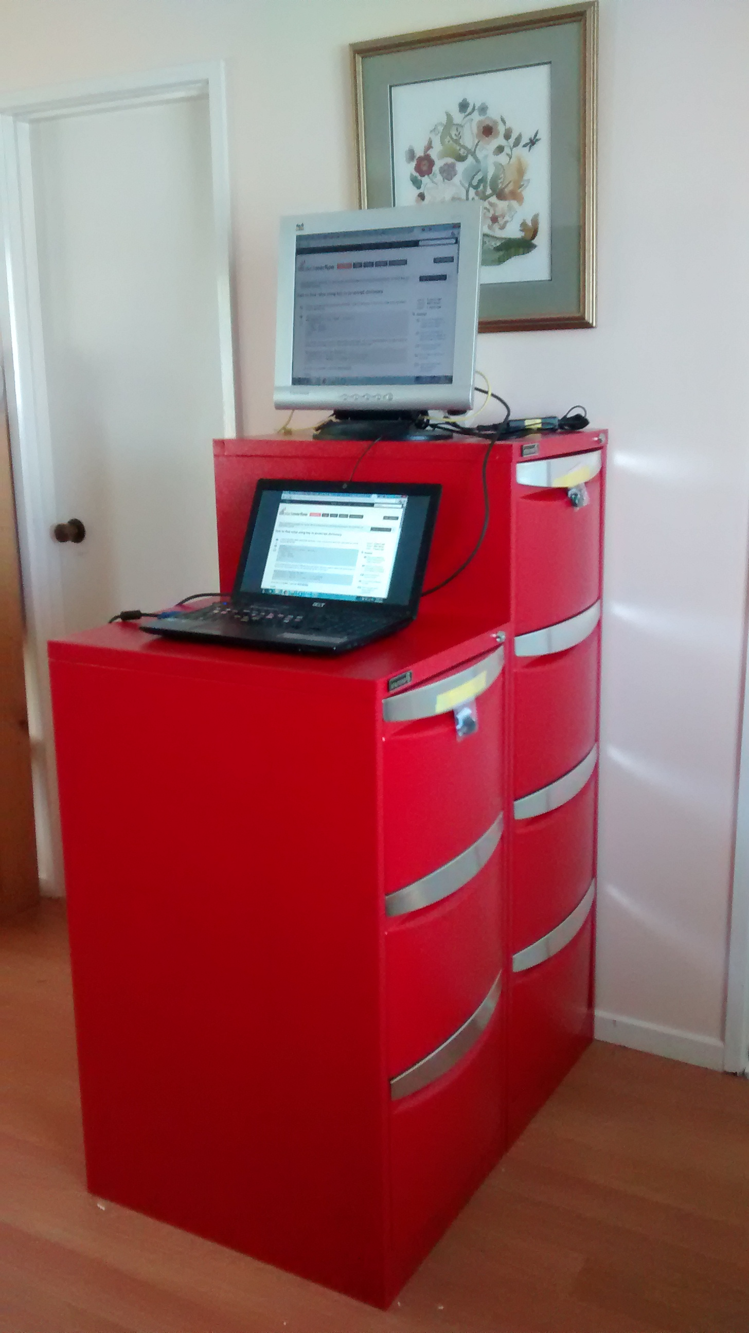 Standing Desks Officeworks Filing Cabinets Catherine Gracey