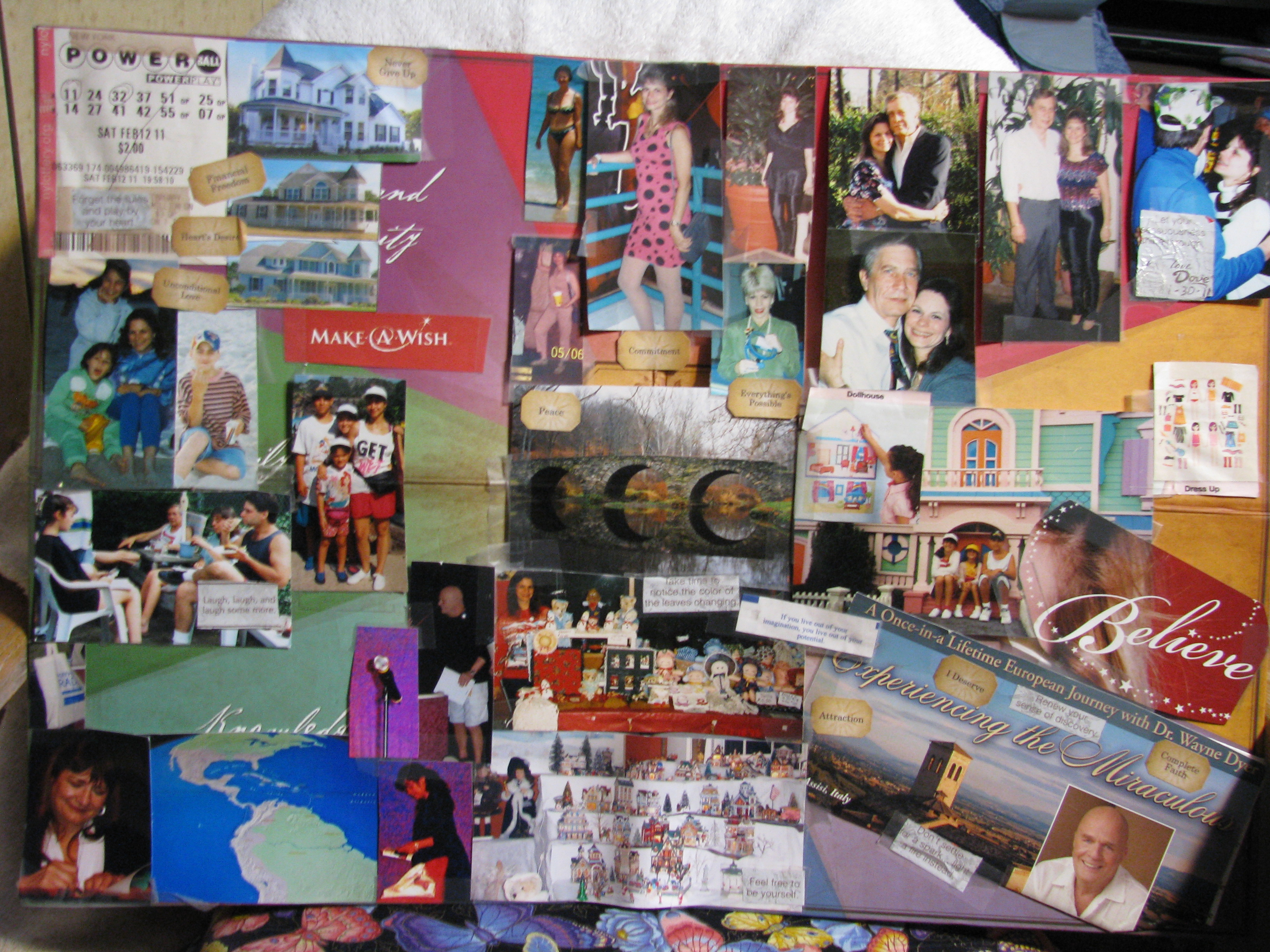 Feng Shui Bagua Vision Board Vision Board And Creation Journal Downloadable Lesson The