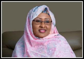 Aisha Buhari in U.S.