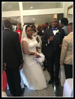 Coming into reception as part of Igbo marriage