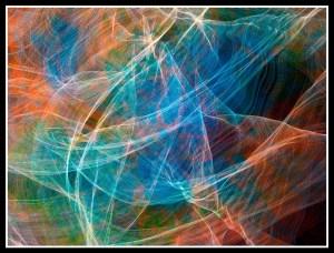 Threads of Light art