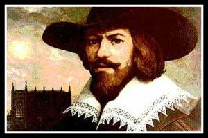 An image of Guy Fawkes from The Telegraph, UK