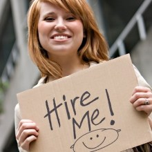Maintain positive attitude during a job search
