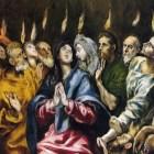 Pentecost, by El Greco