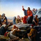"""The Sermon On the Mount"" by Carl Heinrich Bloch (1834–1890)"