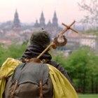 Pilgrim on the Camino Santiago