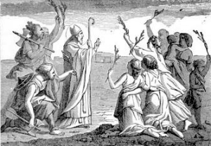 [Pictorial Lives of the Saints: Saint Hilary of Poitiers]