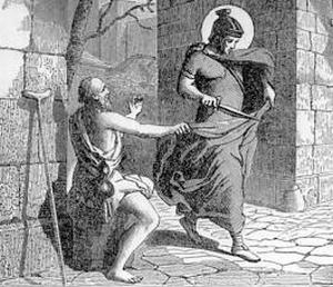 [Pictorial Lives of the Saints: Saint Martin of Tours]
