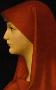 19th century portrait of Saint Fabiola of Rome by Jean-Jacques Henner; swiped off the Wikipedia web site