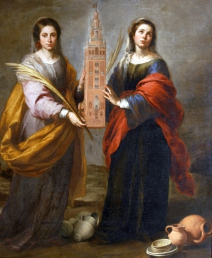 Saint Justina and Saint Rufina