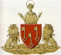 coat of arms for Ledeberg, Belgium
