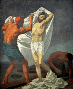 Tenth Station - Jesus is Stripped of His Garments
