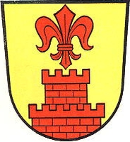 coat of arms for Wachtendonk, Germany