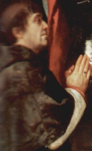 detail from a portrait of Cellach of Armagh by Titian, 1522, San Nazzaro e Celso