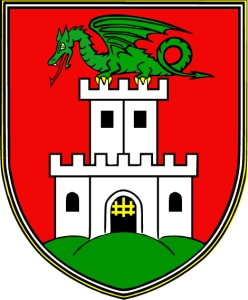 coat of arms of Ljubljana, Slovenia