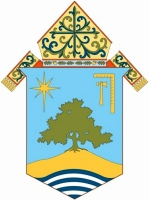 coat of arms of the Diocese of Oakland, California