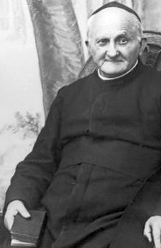 photograph of Blessed Arnold Janssen, date unknown, photographer unknown; swiped off Wikimedia Commons