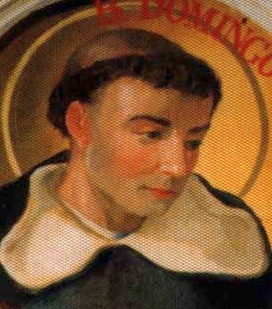 detail of an Italian holy card of Blessed Francisco Castellet Vinale, date and artist unknown; swiped from Santi e Beati
