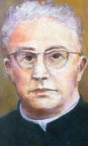 detail of the beatification portrait of Blessed Ladislaus Findysz; swiped off the Vatican web site