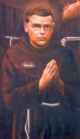 illustration of Blessed Wojciech Gondek, date and artist unknown; swiped from Santi e Beati