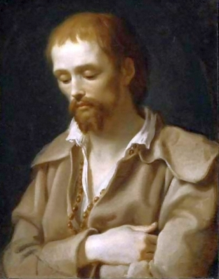 portrait of Saint Benedict Joseph Labre by Antonio Cavallucci, 1795, Museum of Fine Arts, Boston, Massachusetts