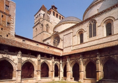 Saint Stephens Cathedral, diocese of Cahors, France; swiped from Wikimedia Commons