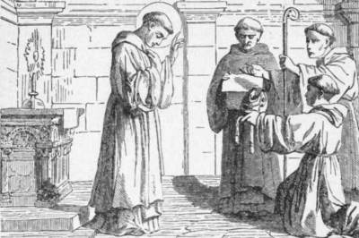 Saint William of Bourges; from Pictorial Lives of the Saints, 1892, artist unknown