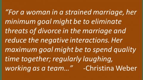 Christina Weber - Definition