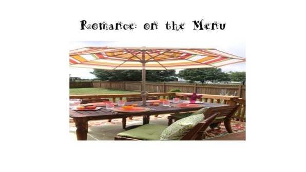 Romance on the menu spring 2015