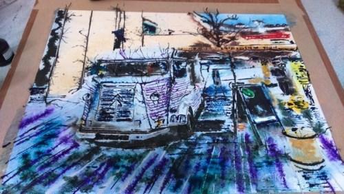 H-Van Painting in London