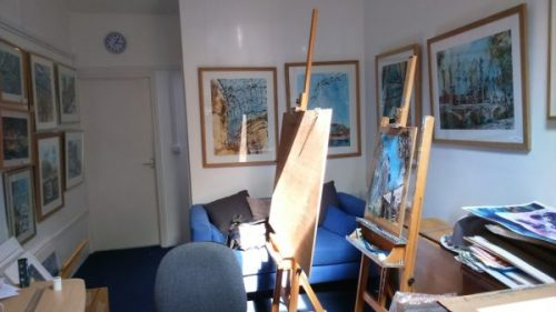 Artist's Studio – A Day in the life of an Artist