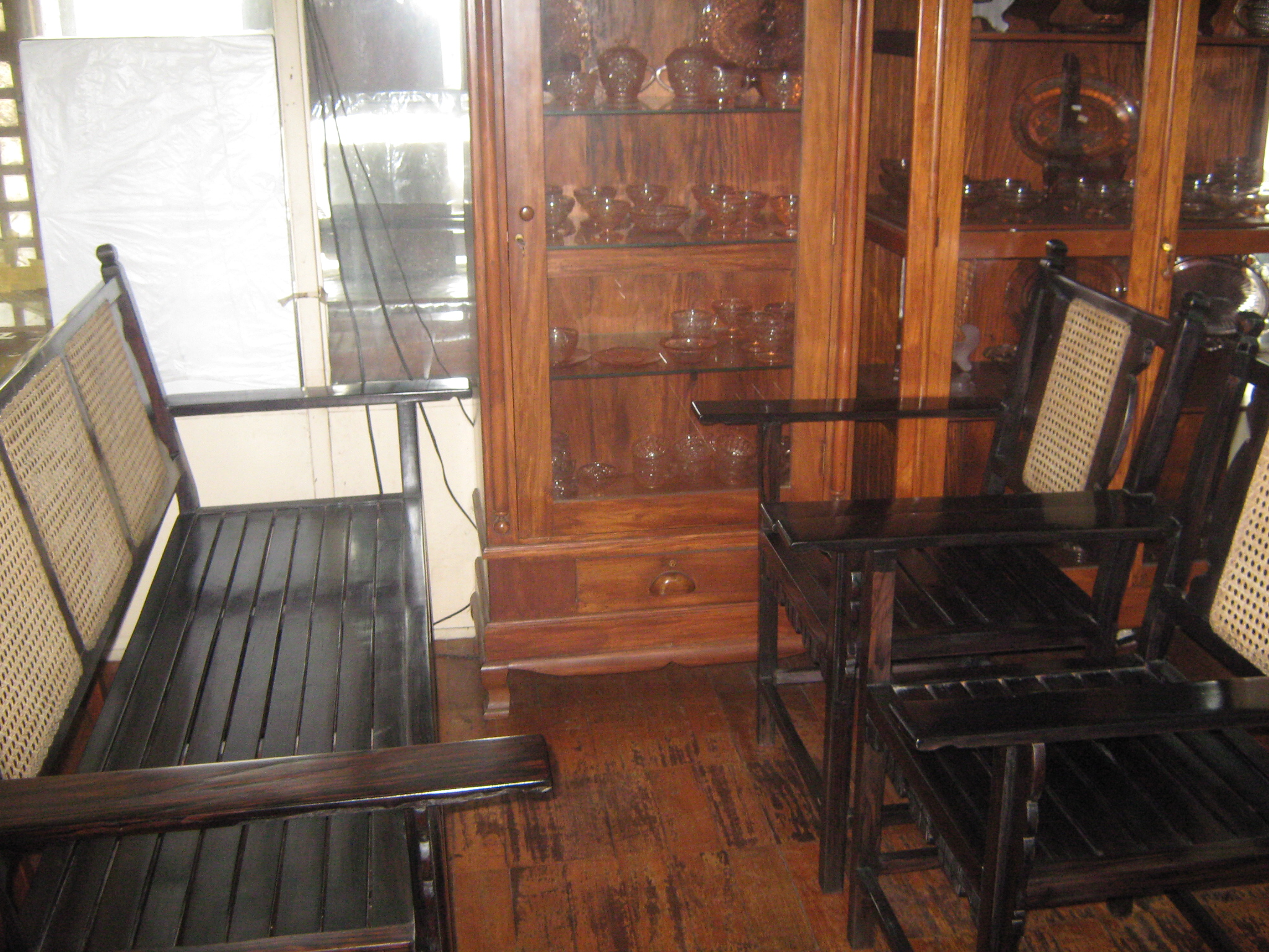 Wooden Sala Set Rizal Great Antique Finds Cat Lives