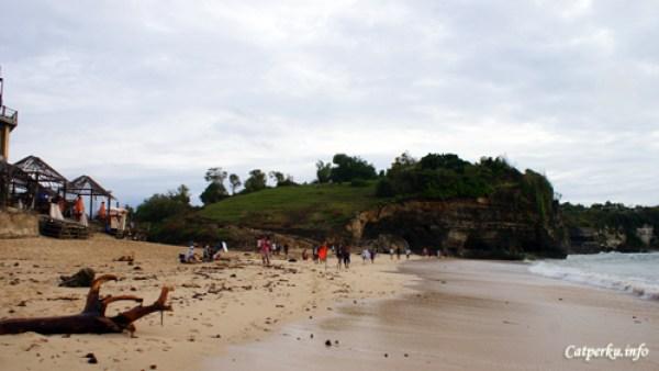 Pantai Terbaik Di Pulau Bali 9 : Pantai Dream Land, sekarang telah berubah nama menjadi New Kuta Beach