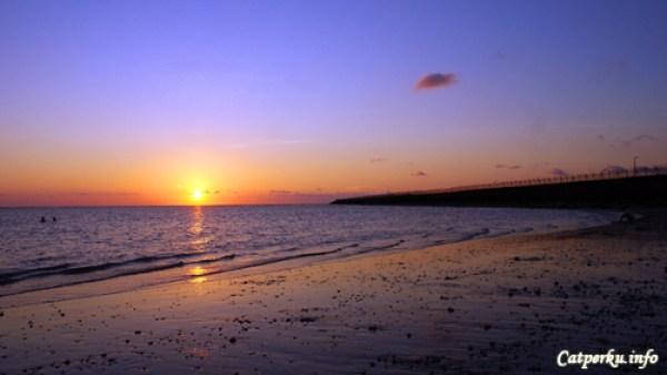 Pemandangan Sunset Terbaik Di Bali No 1, Pantai Kelan