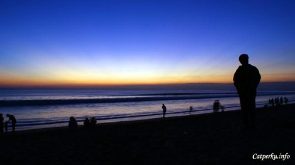 Pemandangan Sunset Terbaik Di Bali No 3, Pantai Kuta