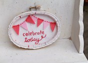 Celebrate Today - 3 x 5 inches