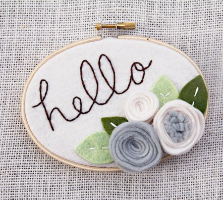 Hello - 3 x 5 inches