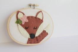 Meditating Fox Wall Art